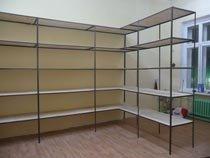 Изготовление, монтаж металлические стеллажи в Архангельске и пригороде
