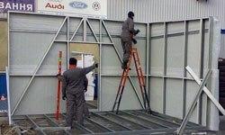 Строительство торговых павильонов в Архангельске