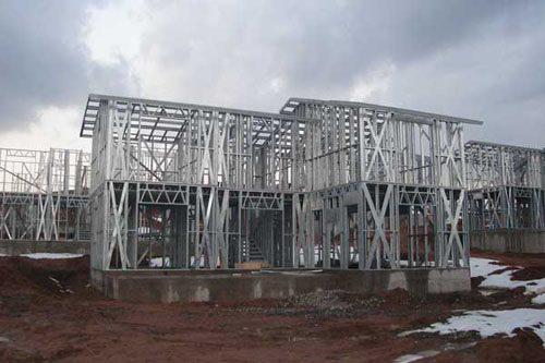 Здания на основе облегчённого металлического каркаса в Архангельске